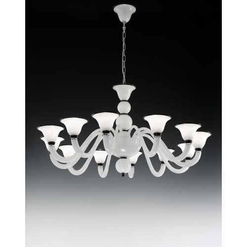 Canaletto 12 Light Chandelier