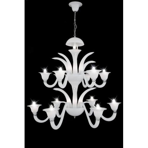 Cristalstrass Murano & Crystal Cornelius 27 Light Crystal Chandelier