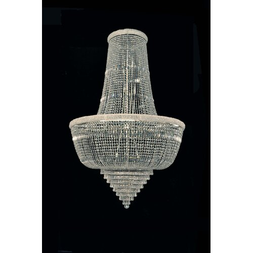 Cristalstrass Murano & Crystal Osaka Empire 18 Light Crystal Chandelier
