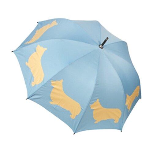 The San Francisco Umbrella Company Dog Park Welsh Corgi Silhouette