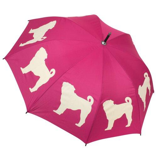 The San Francisco Umbrella Company Dog Park Pug Walking Silhouette