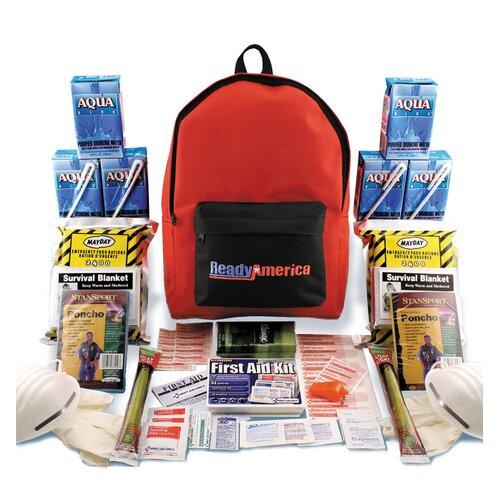 Ready America 2 Person Grab N' Go Emergency Backpack Kit