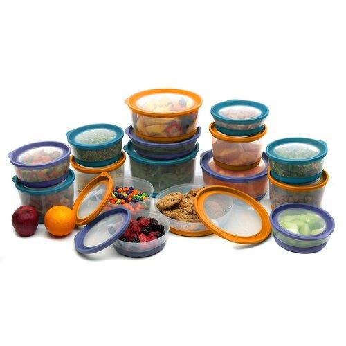 Clear Choice Housewares Platinum Series 16 Piece Food Storage Container Set