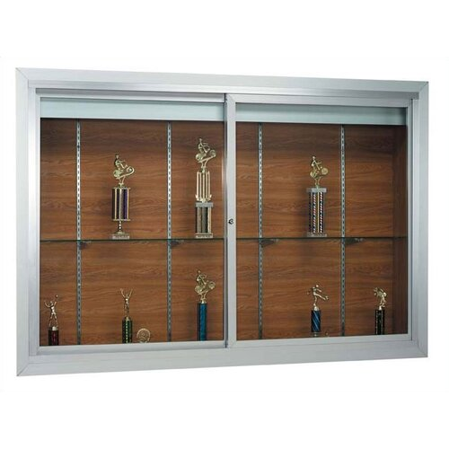 AARCO Deluxe Recessed Display Case