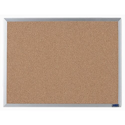 AARCO Economy Series Natural Pebble Grain Bulletin Board