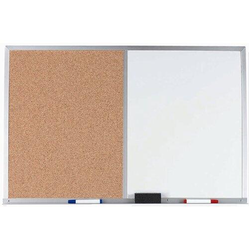 AARCO Combination Bulletin Board and Whiteboard