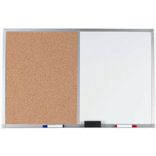 AARCO Combination Bulletin Board and Whiteboard