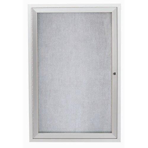 AARCO Outdoor Illuminated Enclosed Bulleting Board