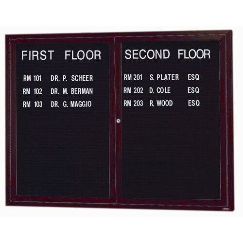 AARCO Enclosed Directory Cabinet
