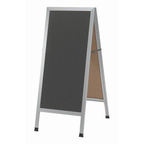 AARCO A-Frame Sidewalk Chalkboard