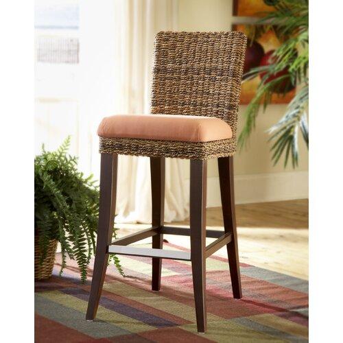 Wildon Home ® Martinique Bar Stool with Cushion
