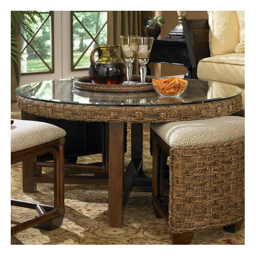 Wildon Home ® Martinique Coffee Table with Nested Stools