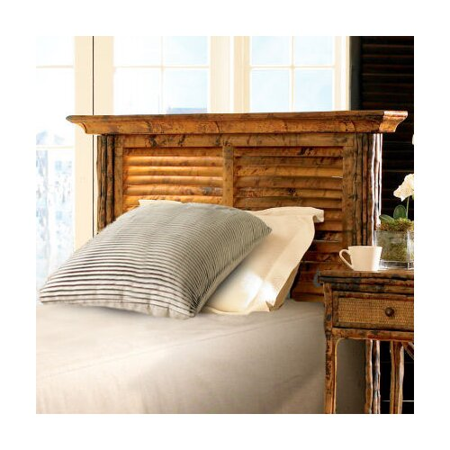 Kenian Coastal Chic Louvered Headboard