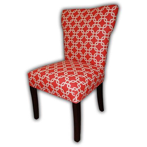 Sole Designs Bella Cotton Wingback Cotton Slipper Chair (Set of 2)