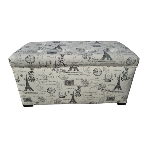 Sole Designs Angela Upholstered Storage Bench