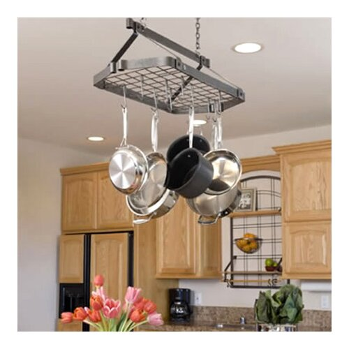 Retro Rectangle Pot Rack