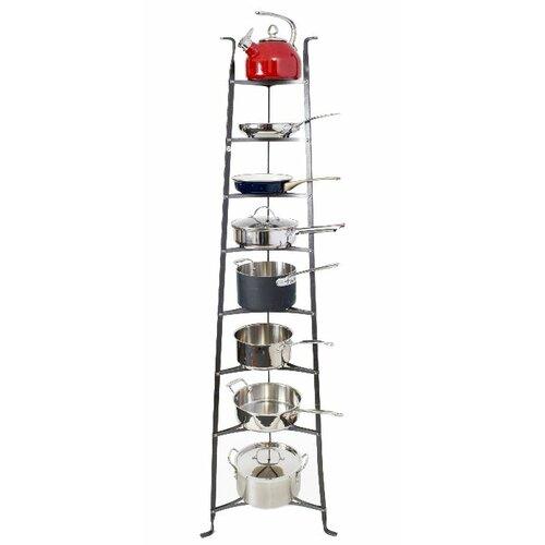 Enclume Premier 8-Tier Cookware Standing Pot Rack