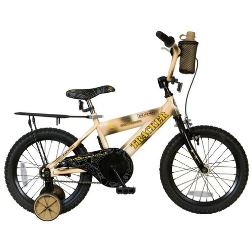 Roadmaster Boy's Roadmaster Tracker Cruiser Bike with Training Wheels