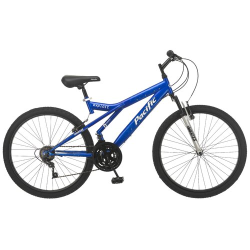 Pacific Men's Exploit - Front Suspension Mountain Bike