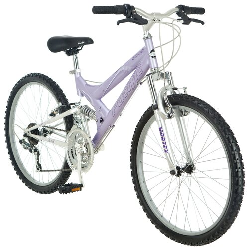 "Pacific Girl's 24"" Chromium Bike"