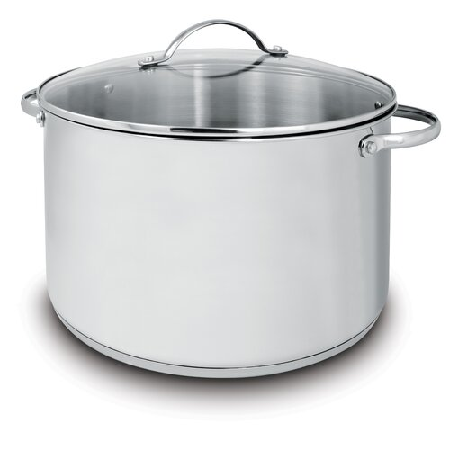 Deluxe 11-qt. Stock Pot with Lid