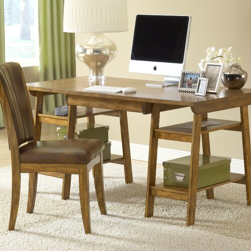 Hillsdale Furniture Park Glen Desk and Chair Set