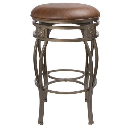 "Hillsdale Furniture Montello 30"" Swivel Bar Stool with Cushion"