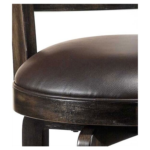 "Hillsdale Furniture Camille 26.5"" Swivel Bar Stool with Cushion"