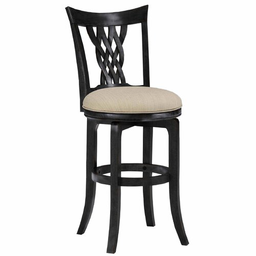 "Hillsdale Furniture Embassy 26"" Swivel Bar Stool"