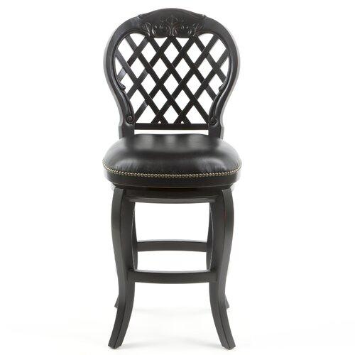 "Hillsdale Furniture Braxton 26"" Swivel Bar Stool with Cushion"