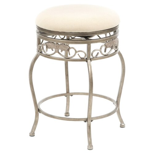 "Hillsdale Furniture Bordeaux 26"" Swivel Bar Stool with Cushion"