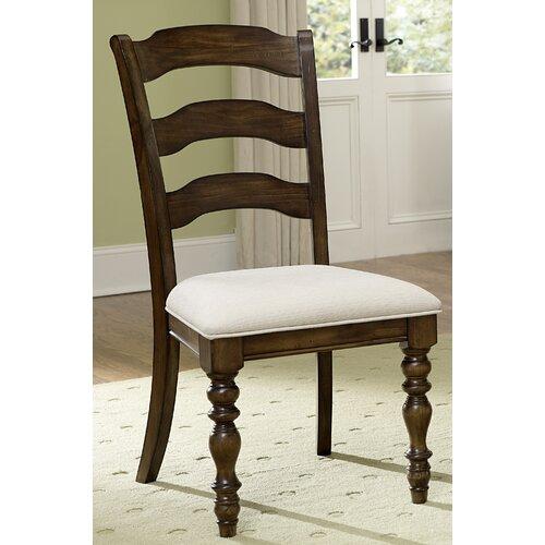 Pine Island Ladder Back Side Chair (Set of 2)