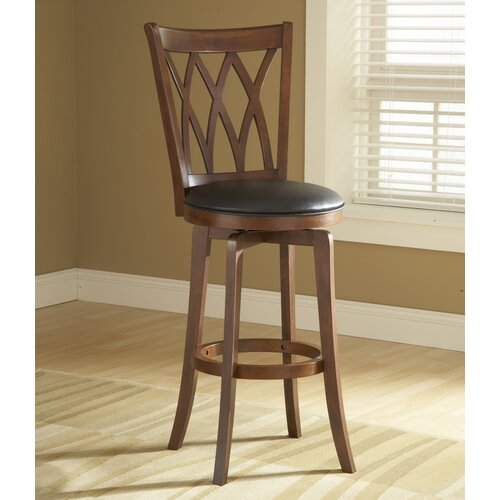 "Hillsdale Furniture Mansfield 24"" Swivel Bar Stool"