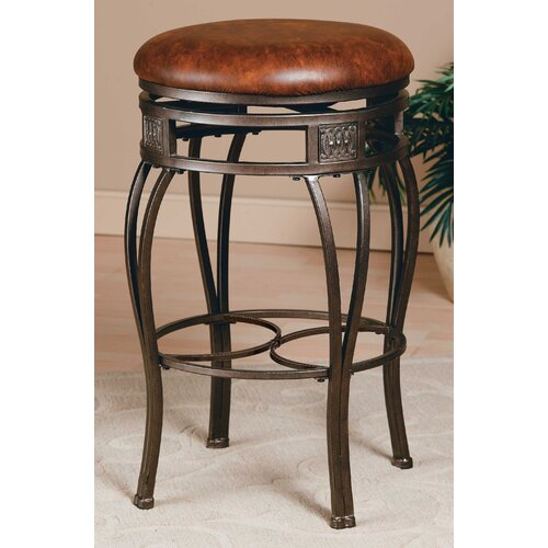"Hillsdale Furniture Montello 26"" Swivel Bar Stool with Cushion"