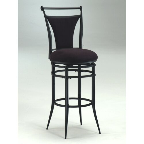 "Hillsdale Furniture Cierra 26"" Swivel Bar Stool with Cushion"