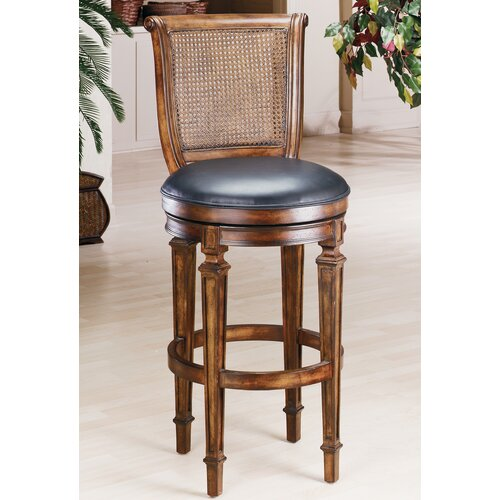 "Hillsdale Furniture Dalton 31"" Swivel Bar Stool with Cushion"