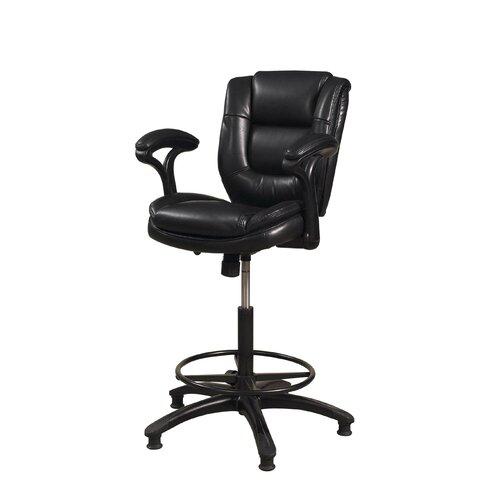 "Hillsdale Furniture Dawson 25"" Adjustable Swivel Bar Stool"