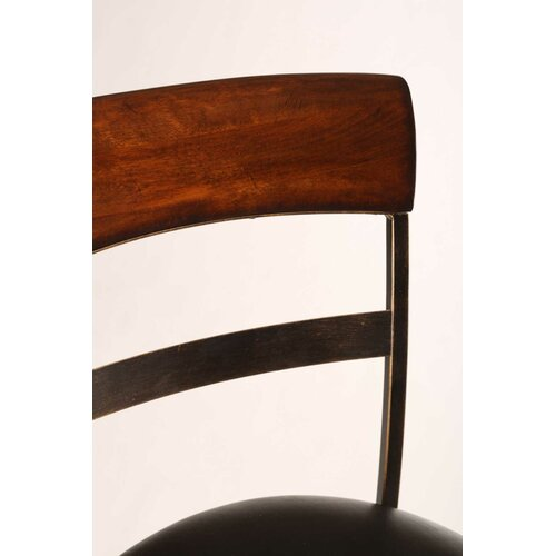 "Hillsdale Furniture Kennedy 30"" Swivel Bar Stool with Cushion"