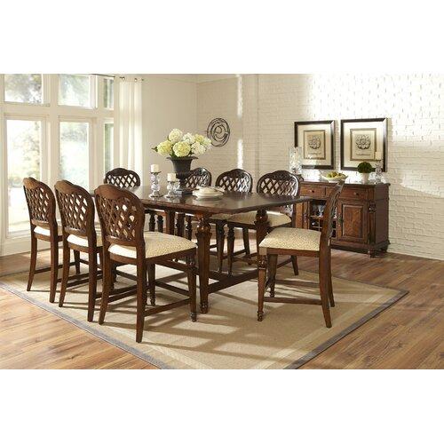 Woodridge 9 Piece Counter Height Dining Set