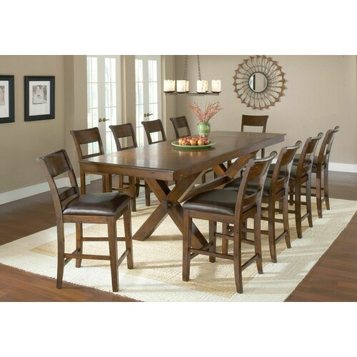 Hillsdale Park Avenue 11 Piece Counter Height Dining Set
