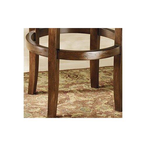 "Hillsdale Furniture Vienna 24"" Swivel Bar Stool with Cushion"