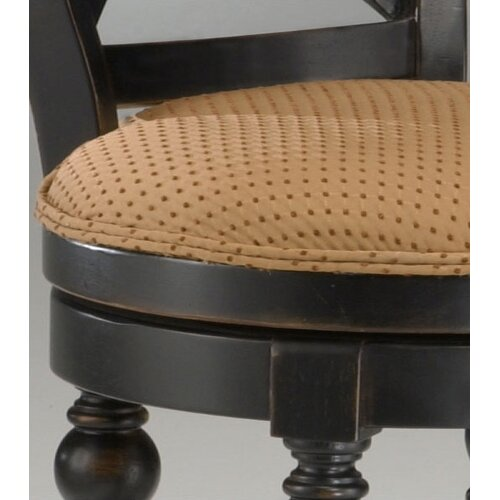 """Hillsdale Furniture Northern Heights 26"""" Swivel Bar Stool with Cushion"""