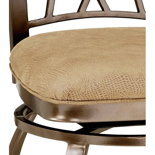 "Hillsdale Furniture Brookside 30"" Swivel Bar Stool with Cushion"