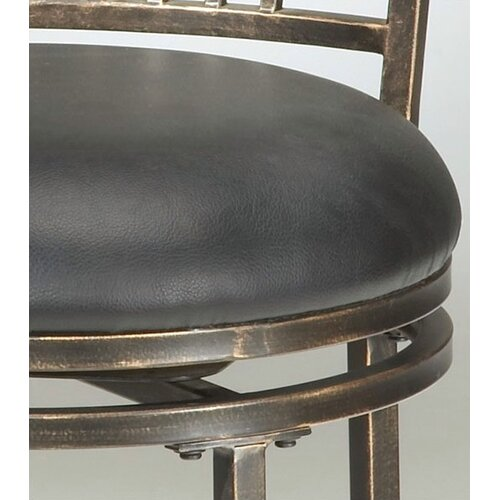 "Hillsdale Furniture Riley 30"" Swivel Bar Stool with Cushion"