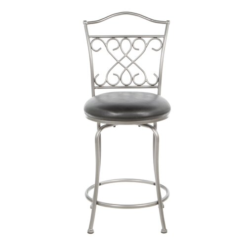 "Hillsdale Furniture Wayland 24"" Swivel Bar Stool"
