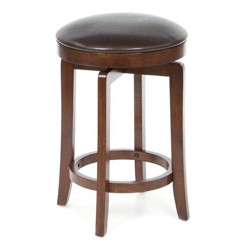 "Hillsdale Furniture 25"" Swivel Bar Stool with Cushion"