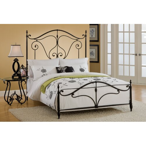 Hillsdale Caffrey Wrought Iron Headboard Reviews Wayfair