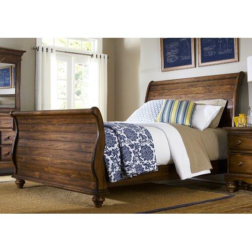 Hamptons Sleigh Bed