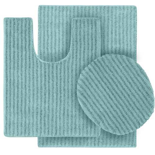 Garland Rug Sheridan Bath Rug (Set of 3)