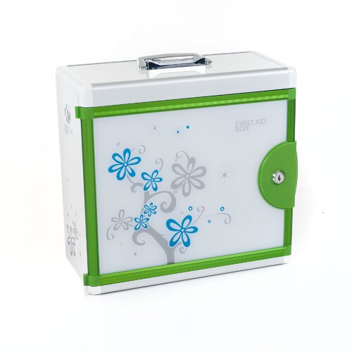Trademark Home Collection Aluminum Medical First Aid Case